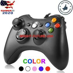 New Usb Wired Game Controller Gamepad For Microsoft Xbox 360 And Pc Windows 7 8 10
