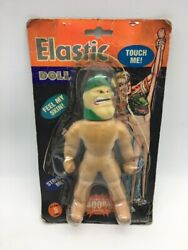 Bootleg 90's Cap Toys Stretch Armstrong 9 Elastic Doll Knock Off Monster [bn]