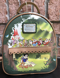 New With Tags Loungefly Disney Snow White And The 7 Dwarfs Mini Backpack