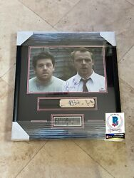 Simon Pegg Signed Shaun Of The Dead Nick Frost Signed Bas Beckett