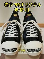 Under Cover '90 Jack Purcell Deadstock Black Leather M Cm26/26.5 Size W/box