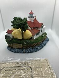 Harbour Lights Battery Point California Collectible Figurine 278 Artist Signed