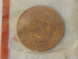 Department Of The Treasury United States Mint Denver Token Coin Medal Sealed
