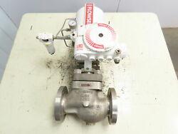 Flowserve Mark-one 3 Actuated Stainless Control Valve Assembly W/logix 3200md
