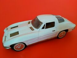Vintage Toy Car - Corvette 1963 Split Window Coupe Tin Litho Battery Operated
