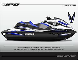 Ipd Jet Ski Graphic Kit For Yamaha Fzr And Fzs Cf Design