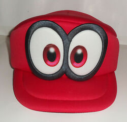 New Collectible Super Mario Odyssey 2017 Red Foam Hat One Size Fits Most