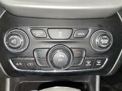 2015-2018 Jeep Cherokee Heater A/c Climate Temp Control Integrated Center Stack