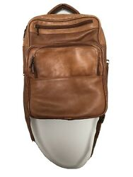 Leather Bag Over The Shoulder Men Woman Brown $30.00