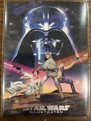2013 Star Wars Illustrated A New Hope One Sheet Reimagined Mp-8 Jeff Miracola