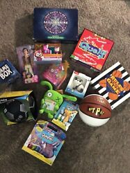 Toys Assortment Of New Toys Board Games Are Used