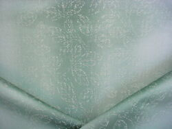 11-5/8y Brunschwig And Fils Bf10137 Stitched Ombre Damask Silk Upholstery Fabric