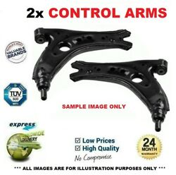 2x Front Control Arms For Audi A4 2.7 Tdi 2006-2008