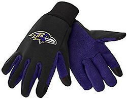 Baltimore Ravens Texting Gloves New One Size Fits Most Foco