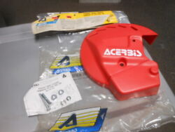 Nos Acerbis Red Front Disc Cover Yamaha 1989 Yz125 Yz250 51-72