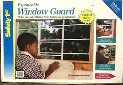 Child Safety Steel Window Guard - Kids And Pets Fall Prevention
