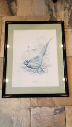 Vintage 1965 Ned Smith Portfolio Of Game Birds Signed And Numbered 62/500 Print