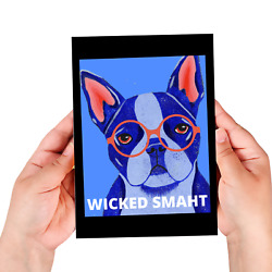 Funny Boston Terrier Journal Large or Small 60 Lined Pages Boston Terrie Gift