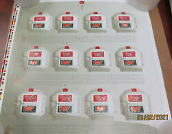 Canada Year Of The Pig 2007 Stamp Uncut Press Sheet Limited Collection Rare