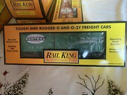 Mth Railking New York Central Rounded Roof Box Car 30-7447