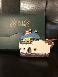 Shelia's Collectibles Inc. Mickey's Toontown Donald Duck's House Boat Disney