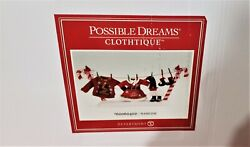 Dept 56 Possible Dreams Clothtique Wash Day Mrs. Claus Laundry
