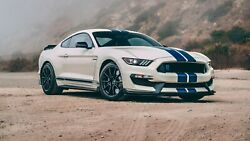 2020 Ford Shelby Gt350r Heritage Edition Dirt Poster 24 X 36 Inch Looks Great