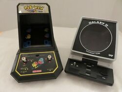 Galaxy Ll And Pac Man Vintage Electronic Video 1981 2 Console Arcade Games Toys