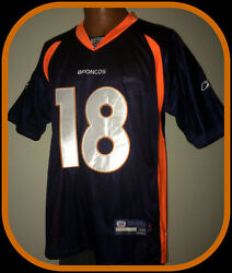 Denver Broncos Peyton Manning Reebok On Field Embroidered Jersey Size 48 Nwt