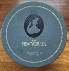 The New Yorker Cheese Plates Set Restoration Hardware