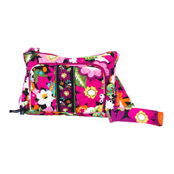 Abbergale Crossbody Hipster Small Bag Colorful Cotton Quilted $11.00