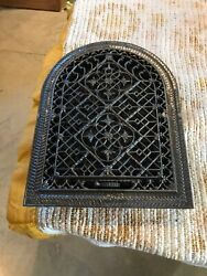 Tc 13 Antique Arch Top Heating Grate Cleaned And Lacquered 11.25 X 14.75