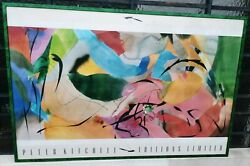 Peter Kitchell Boomerang Arrows 1989 Limited Editions Signed Poster