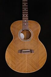 Blueberry In Stock Grand Concert Acoustic Guitar Groove Warranty And Case