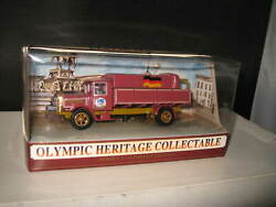 Matchbox Olympic Heritage Collectable Berlin 1936 Mercedes Truck Series 1 Ltd Ed