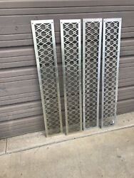 4 Available Price Each Antique Aluminum Siding Grate Cold Air Return 8 X 51