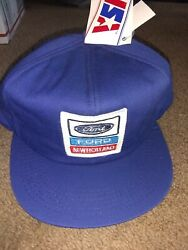 Vintage Ford New Holland K-products Patch Flaps Vintage Hat Tags Rare Farming