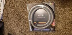 New Spectre 39698 5/8 Stainless Steel Heater Hose W/ Clamps 4ft/1.2m