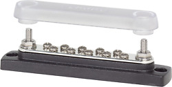 10-gang Busbar With Cover Electrical Equipment 300v Ac Maximum Voltage