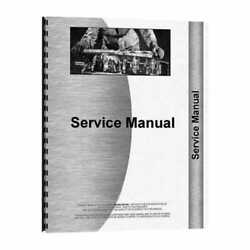 Service Manual - 655 755 855 955 Compatible With John Deere 755 855 955 655