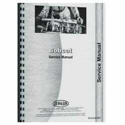 Service Manual - 825 Compatible With Bobcat 825