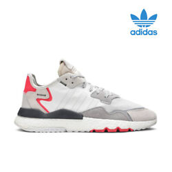 Adidas Nite Jogger White Shock Red F34123 New On Sale 100 Authentic
