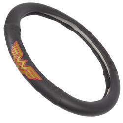 Official Wonder Woman Steering Wheel Cover Leather Ergonomic Skin Universal Size