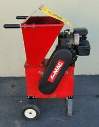 Merry Mac | 5 Hp Red Wood Chipper/shredder | Briggs And Stratton | Used 9963