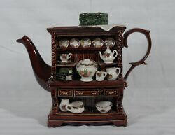 Rare Cardew 1996 Royal Albert Old Country Roses Welch Dresser Large Teapot