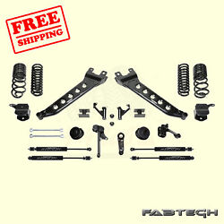 7 Radius Arm Sys W/coil Springs And Stealth Shocks For 14-17 Ram 2500 4wd Fabtech