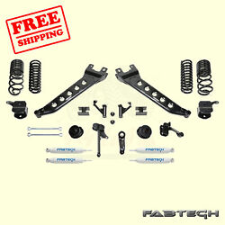 7 Radius Arm Syst W/coil Springs And Shocks For 14-17 Ram 2500 4wd Fabtech