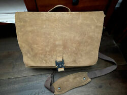 WaterField Designs SFBags Executive Leather Messenger Leather Bag $399 Retail $269.00