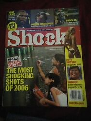 Shock Magazine January 2007 Issue Us Edition Book Rare Oop Value Extreme Vintage