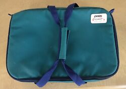Genuine Pyrex Portables Microcore Hot/cold Thermal Pocket Carrier For 3qt Dish